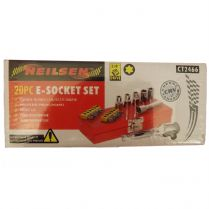 E-Socket Set 20 Piece